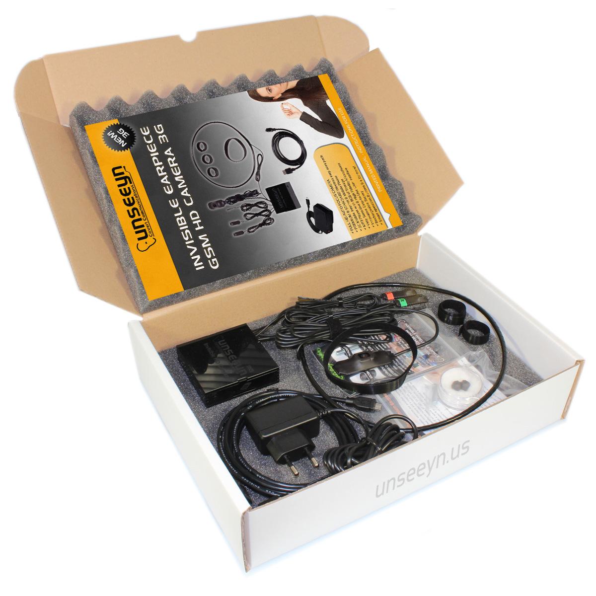 3c55bb3ad19 Invisible Earpiece HD Camera