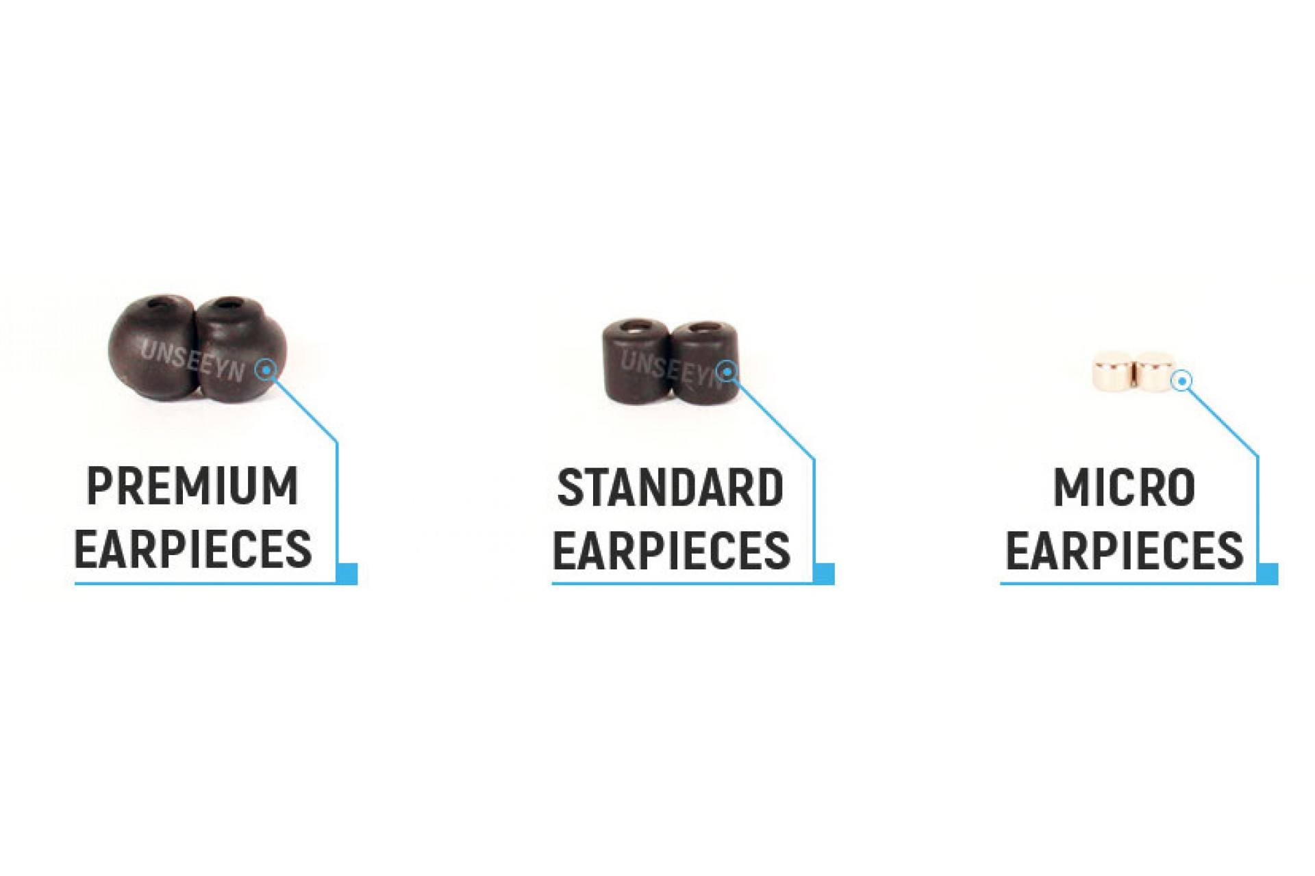 Extra Earpieces Bundle